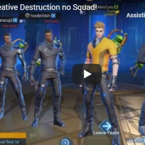 Live do FDS - Creative Destruction no Squad!