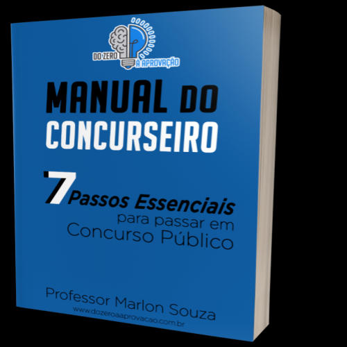 O que é o manual do concurseiro?