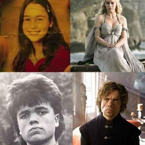 Como eram os personagens de Game of Thrones na adolescência