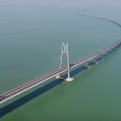 China inaugurou a maior ponte marítima do mund