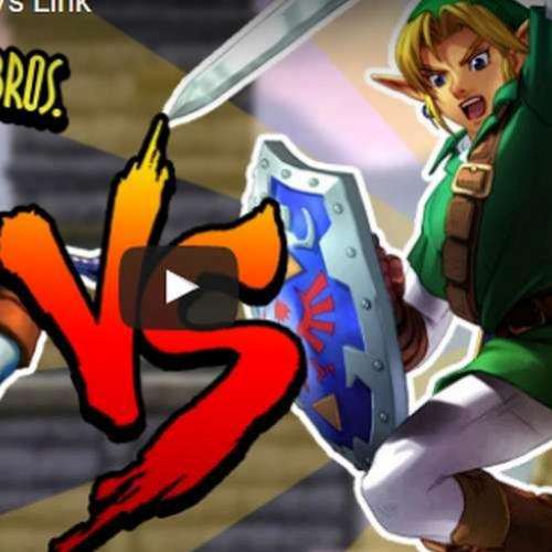 Novo vídeo! Link Vs Link no Smash Bross!