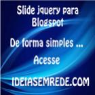 Colocar slide jquery no blogspot
