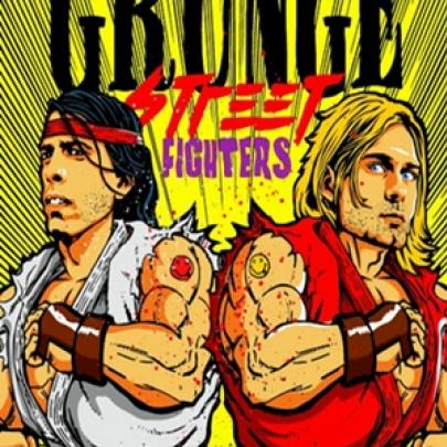 Grunge Street Fighters! Uma mistura de música e games!