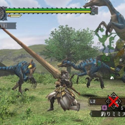 Modo online do Monster Hunter do playstation 2 voltou