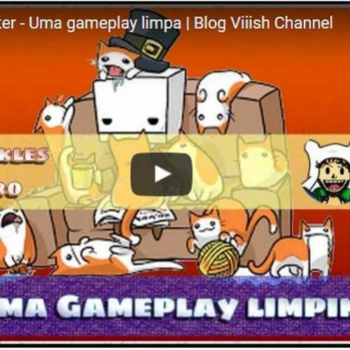 Novo vídeo - Uma gameplay limpinha no BattleblockTheater