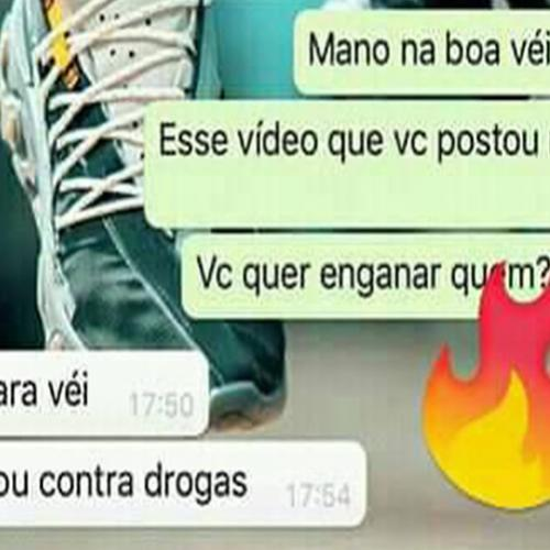 Sou contra as drogas