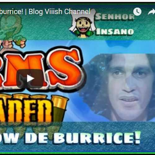 Novo vídeo! Show de burrices no Worms!